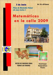 Matemáticas en la calle